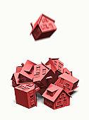 Chute de l'immobilier