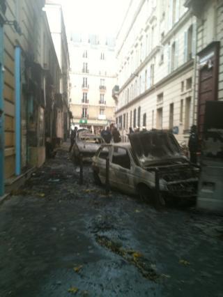 Incendie rue Constant Berthaut