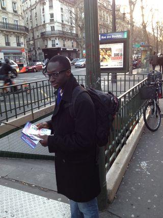 Tractage rue des Boulets 6jan12